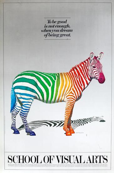 DP Vintage Posters - SVA School Of Visual Arts Original ...