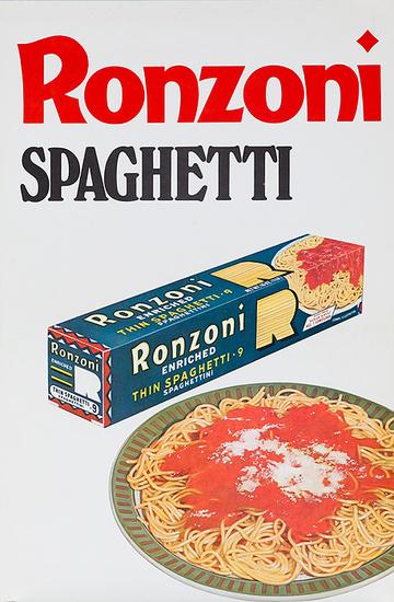 DP Vintage Posters - Ronzoni Italian Food Original ...