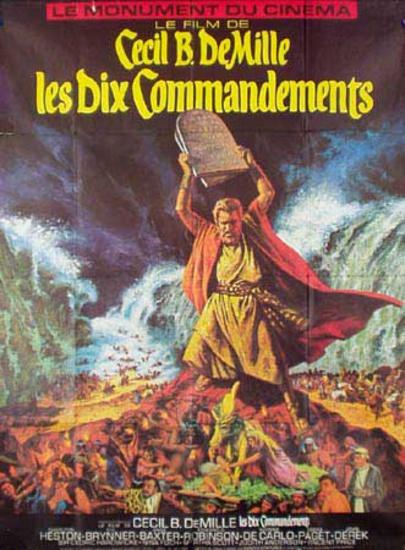 ten commandments nina foch