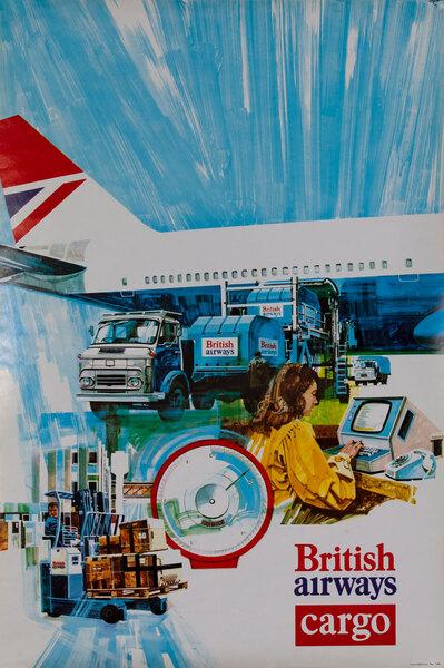 British Airways Cargo poster